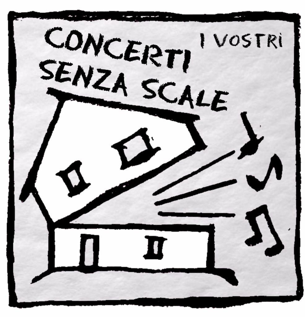 concerti senza scale logo alessandro pellegrini ancona cantautore house concert